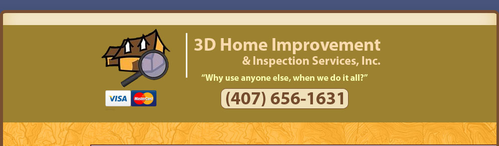 3D Home Improvement and Inspection Services